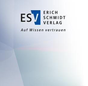 Erich Schmidt Verlag. Auf Wissen vertrauen